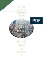 Antecedentes de la Planeación Urbana en México