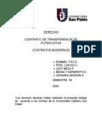 CONTRATO DE TRANSFERENCIA DE JUGADOR DE FUT.docx