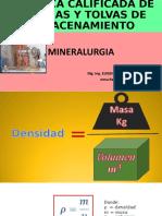 PRACTICA CALIFICADA TOLVAS Y CANCHAS DE ALMACENAMIENTO