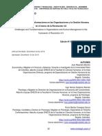 Desafíos y Transformaciones en Las Organizaciones 4.0