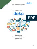 Plan de Marketing Digital - Deko (1)
