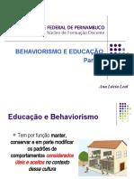 Aula 4_Behaviorismo_parte 3_ Educação