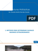 CAUDALES MAXIMOS Y TRANSITO DE ONDAS DE AVENIDA