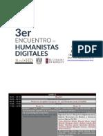 3er Encuentro de Humanistas Digitales