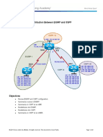 CCNPv7_ROUTE_Lab4-1_Redistribution_EIGRP_OSPF_Student