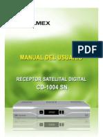 Manual CD 1004sn