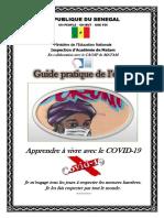 GUIDE PRATIQUE DE L'ELEVE APPRENDRE A VIVRE AVEC LE COVID19