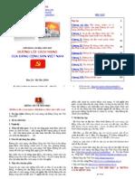 1_DL_NDGDTT_DHAs Giáo trình (tóm tắt) đường lối cách mạng của đảng cộng sản việt nam