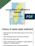 Waste Water Treatment in Sweden
