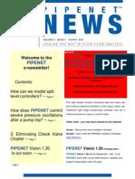 Pipe Net Newsletter Summer 2007