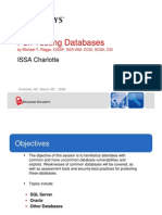Database Pen Testing ISSA March 25 V2