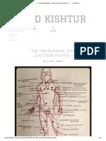 - THE 108 MARMAS_ VITAL JUNCTION POINTS - — ._. Ed Kishtur .__