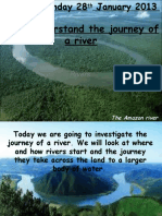 Geography - Journey of a river
