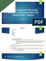 3. y 4. Objetivos de evaluacion ESTUDIANTES