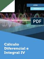 Unidade 3 - Cálculo diferencial e integral IV
