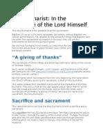 Eucharist as presence.docx