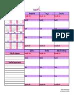 Planner Semanal ProdutiVida 2020