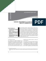 SENACE REFORMAS A LA EVALUACIÓN DEL IMPACTO AMBINETAL EN EL PERÚ.pdf