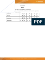 Taller Generalidades de la Econometría.