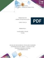 SANDRA ROJAS Unidad 1, 2 y 3 Paso 6 - Presentar trabajo final.