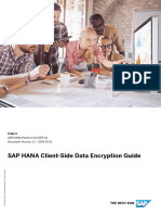 SAP HANA Client-Side Data Encryption Guide En