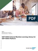 SAP HANA External Machine Learning Library Guide En