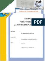 ENSAYO - IDEOLOGÍA DE GÉNERO
