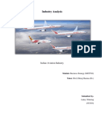 Lakey Tshering 031910, Indian Aviation Industry Analysis