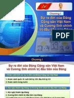 Bài giảng điện tử - Bài trình chiếu - Đường lối cách mạng của Đảng Cộng sản Việt Nam Chuong1