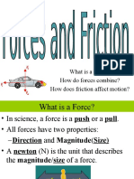 forces and friction