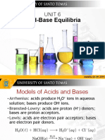 Unit 6 Acid-Base Equilibria UST Template
