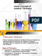 Unit 7 General Concept of Volumetric Titrimetry UST Template