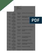 Xam Schedule