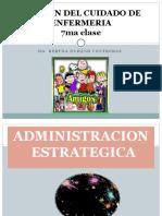 CLASE 04  Adminisracion estrategica