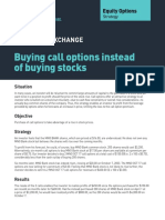 Buying Call Options Instead of Buying Stock