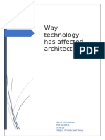 Ways  technology has affected architecture.docx