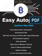 Earn on Autopilot - Receive $$ every single day