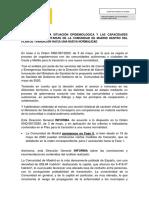 El informe del Gobierno sobre los requisitos para que Madrid pueda pasar a fase 1