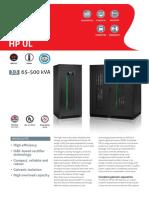 Master HP UL (65-500)