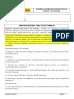 propuesta del auditor interno