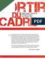 Sortir du Cadre - Future of Photojournalism - Eng