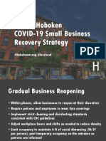 Hoboken Business Recovery Strategy