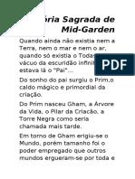 História Sagrada de Mid-Garden 1