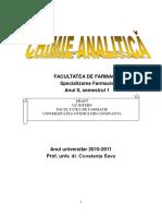 II.1.Reactii analitice