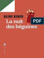 La nuit des beguines - Aline Kiner.epub