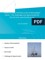 Feb15 Presentation Health  Safety Priorities in the UK Renewables Sector