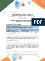 Guia de actividades y Rúbrica de evaluación Paso 3 - Construcción de política contable(5)
