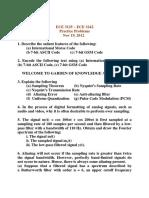 12 - ECE 3125 ~ ECE 3242 - Nov 19 2012 - Practice Problems