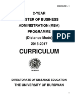 MBA-Syllabus