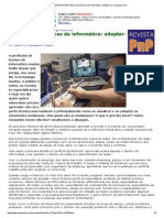 [Revista PnP] O Futuro Dos Técnicos de Informática_ Adaptar-se Ou Desaparecer